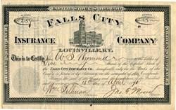 Falls City Insurance Company - Louisville, Kentucky 1890