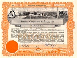 Farmers Cooperative Exchange, Inc. - North Carolina 1948