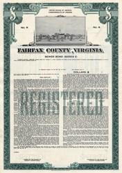 Fairfax County Sewer Bond - Virginia 1987