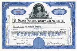 Fanny Farmer Candy Shops, Inc. ( Now Fannie May Chocolates ) - 1957