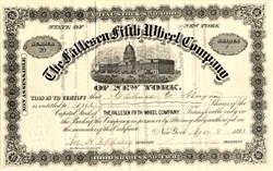 Fallesen Fifth Wheel Company - New York 1883