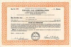 Fallon Gas Corporation - Colorado 1958