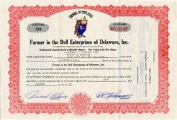 Farmer in the Dell Enterprises of Delaware, Inc. - Delaware 1972