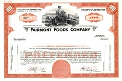 Fairmont Foods Company - Delaware