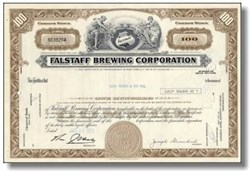 Falstaff Brewing Company 1960's