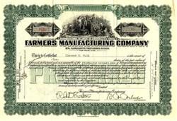 Farmers Manufacturing Company - Virginia 1923