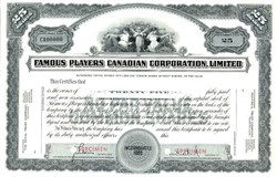 Famous Players Canadian Corporation, Limited - Canada