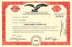 Fared Robot Systems, Inc. - Colorado 1987