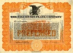 Falcon Tin Plate Company - Canton, Ohio 1922