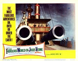 The Fabulous World of Jules Verne Lobby Card - 1961