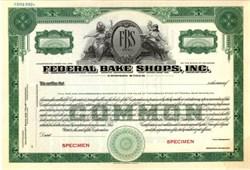 Federal Bake Shops, Inc.