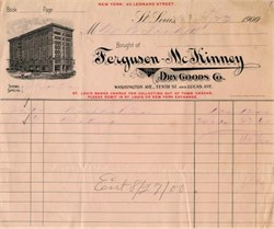 Ferguson-McKinney Dry Goods Co. - St. Louis, Missouri 1900