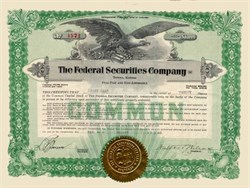 Federal Securities Company, Inc. 1928