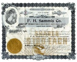 F. H. Sammis Company 1898 - Chicago
