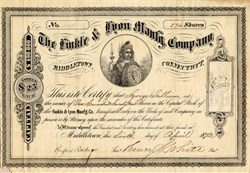 Finkle and Lyon Manufacturing Company ( Became Victor Sewing Machine)   - Connecticut 1872