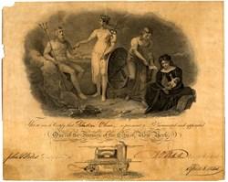 Fireman Appointment - New York City, New York -  1845