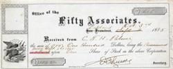 Fifty Associates - Oakland, California 1885