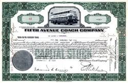 Fifth Avenue Coach Company - New York 1936
