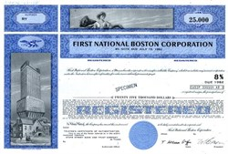 First Boston Corporation Investment Banker (Became Credit Suisse)  - Massachusetts 1975