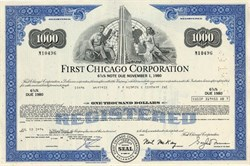 First Chicago Corporation (First National Bank of Chicago ) - Delaware 1975