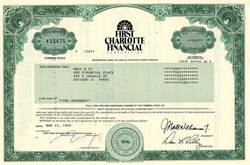 First Charlotte Financial Corporation - North Carolina 1993