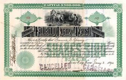 Fidelity Loan and Trust Company 1890 - Sioux City, Iowa