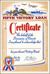 Fifth Victory Loan - Canada 1943