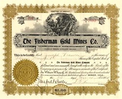 Fisherman Gold Mines Co. - Colorado 1904
