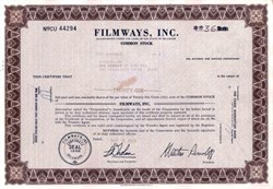 Filmways, Inc. ( Martin Ransohoff as President )