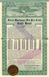 Printing Establishment of the United Brethren in Christ - Gold Bond - Ohio 1922