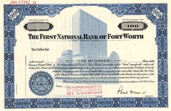First National Bank of Forth Worth - Texas