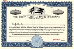 First National Bank of Neenah - Wisconsin