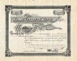 First National Bank of Park City Utah - 1931