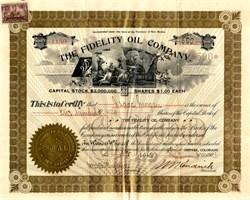Fidelity Oil Company - New Mexico 1901