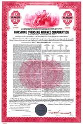 Firestone Overseas Finance Corporation $60,000,000 - Delaware 1968