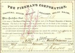 Fireman's Corporation 1884