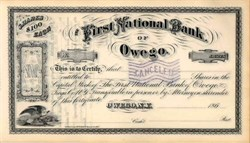 First National Bank of Owego 186X