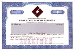 First State Bank of Sarasota - Florida