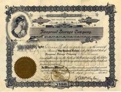 Fireproof Storage Company 1908
