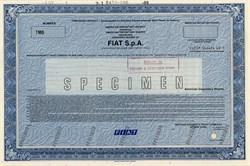 FIAT S.p.A - Italy 1989