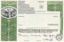 First Virginia Bankshares Corporation