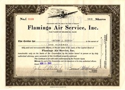 Flamingo Air Service, Inc. - Delaware 1948