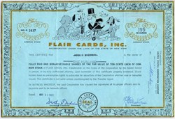 Flair Cards, Inc. - 1962