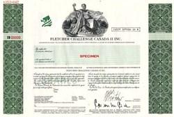 Fletcher Challenge Canada II Inc.
