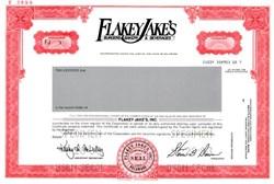 Flakey Jake's, Inc. - Delaware 1983