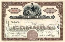 Florence Stove Company 1939