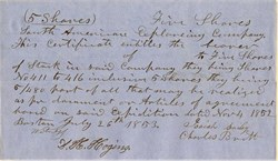 South American Exploring Company - Boston 1853