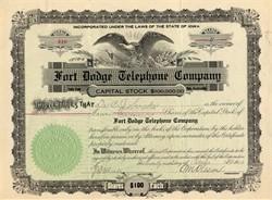 Fort Dodge Telephone Company - Iowa 1923