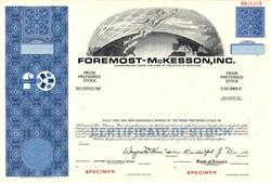 Foremost - McKesson, Inc. - Maryland