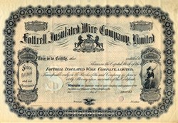 Fottrell Insulated Wire Company, Limited - 1883